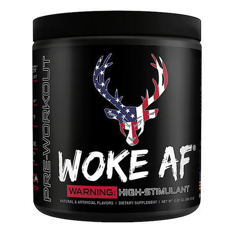 Bucked Up Woke AF, 'Merica Rocket Pop, 30 Servings (12.53 oz)
