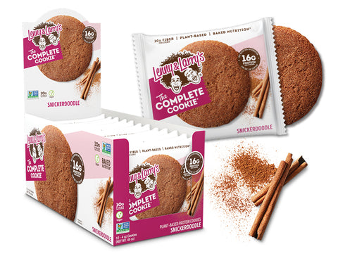 Lenny & Larry's The Complete Cookie, Snickerdoodle, 12 (4 oz) Cookies