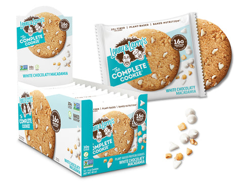 Lenny & Larry's The Complete Cookie, White Chocolaty Macadamia, 12 (4 oz )Cookies