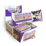 Zenevo Protein Cups, Cookies & Cream, 12 (3 cup) Packs: 36 pieces