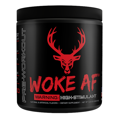 Bucked Up Woke AF, Blood Raz, 30 Servings (12.43 oz)