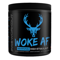 Bucked Up Woke AF, Blue Raz, 30 Servings (12.53 oz)