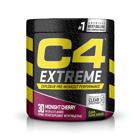 Cellucor C4 Extreme Energy, Strawberry Kiwi, 30 Servings
