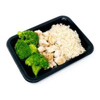 Standard (4 oz): Chicken, White Rice, Broccoli