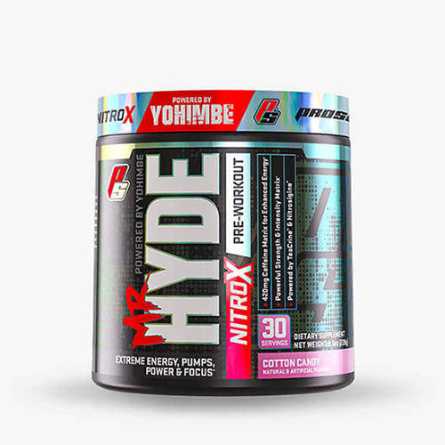 Pro Supps Mr. Hyde Nitro X, Cotton Candy, 30 Servings