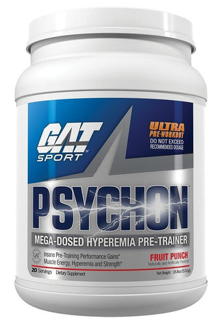GAT Psychon, Fruit Punch, 20 Servings