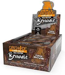 Grenade Carb Killa, Fudge Brownie, 12 - 2.12 oz Bars