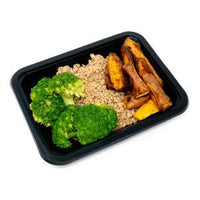 Standard (4 oz): Ground Turkey, Sweet Potatoe Wedges, Broccoli