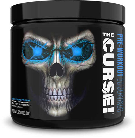 JNX Sports The Curse!, Blue Raspberry, 50 Servings (250g)
