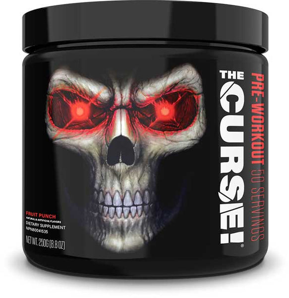 JNX Sports The Curse!, Fruit Punch, 50 Servings (250g)