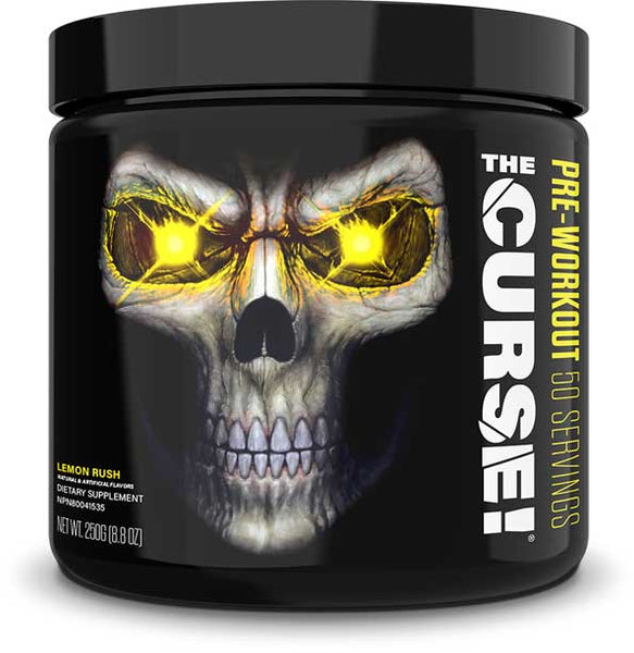 JNX Sports The Curse!, Lemon Rush, 50 Servings (250g)