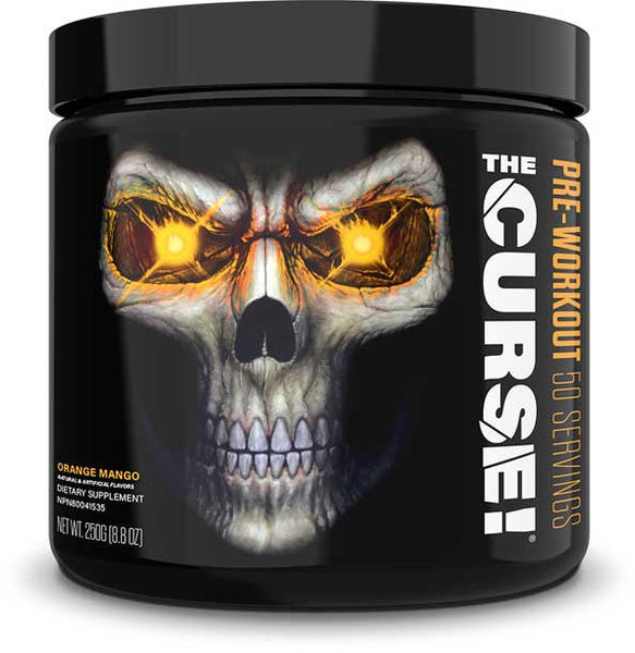 JNX Sports The Curse!, Orange Mango, 50 Servings (250g)