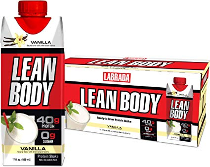 Lean Body Protein Drink: Vanilla