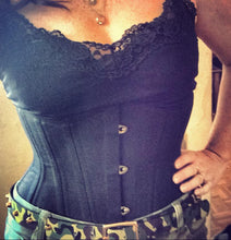 "Load image into Gallery viewer, The ""Waist Trainer SHORT LENGTH"" Corset"