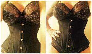 "The ""Waist Trainer REGULAR LENGTH"" Corset"