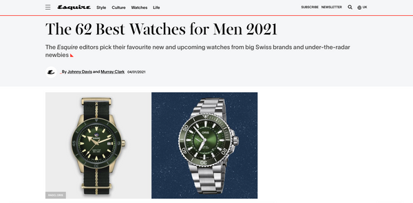 Esquire The Best 62 Men's Watches 2021