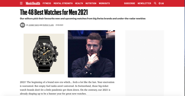 Men's Health Best 48 Men's Watches 2021