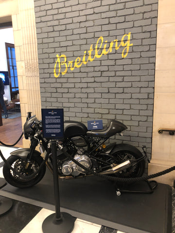 Motorbike at Esquire townhouse annual event