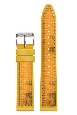Yellow Fire Hose Strap