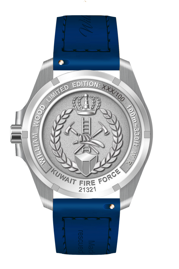 Kuwait Fire Force Commemorative Watch