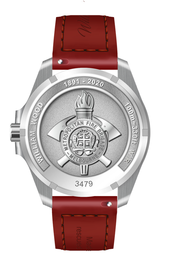 Melbourne Fire Brigade Commemorative Watch