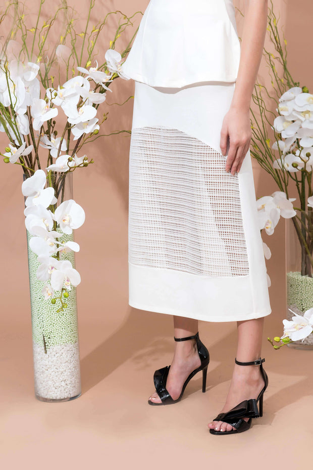 Luxe Transparent Pretty Skirt