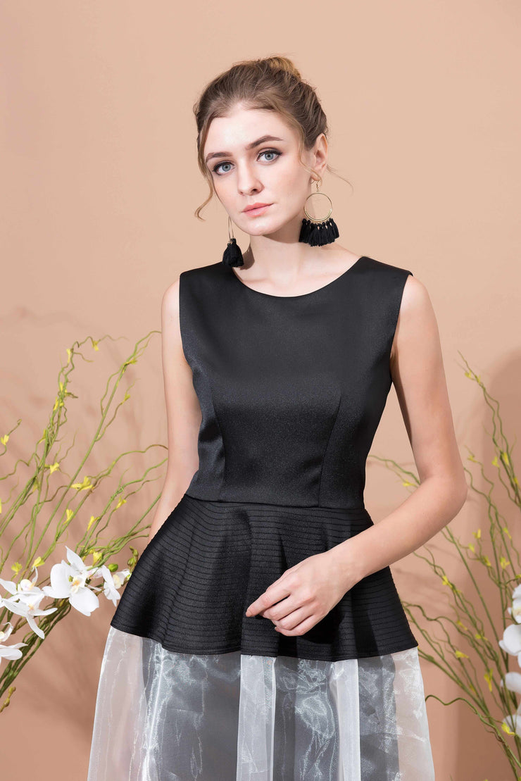 Fermé Round Neck Dress