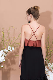 Volant Strapped Top