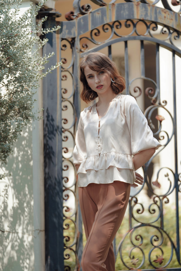 Lily Silk Summer Blouse