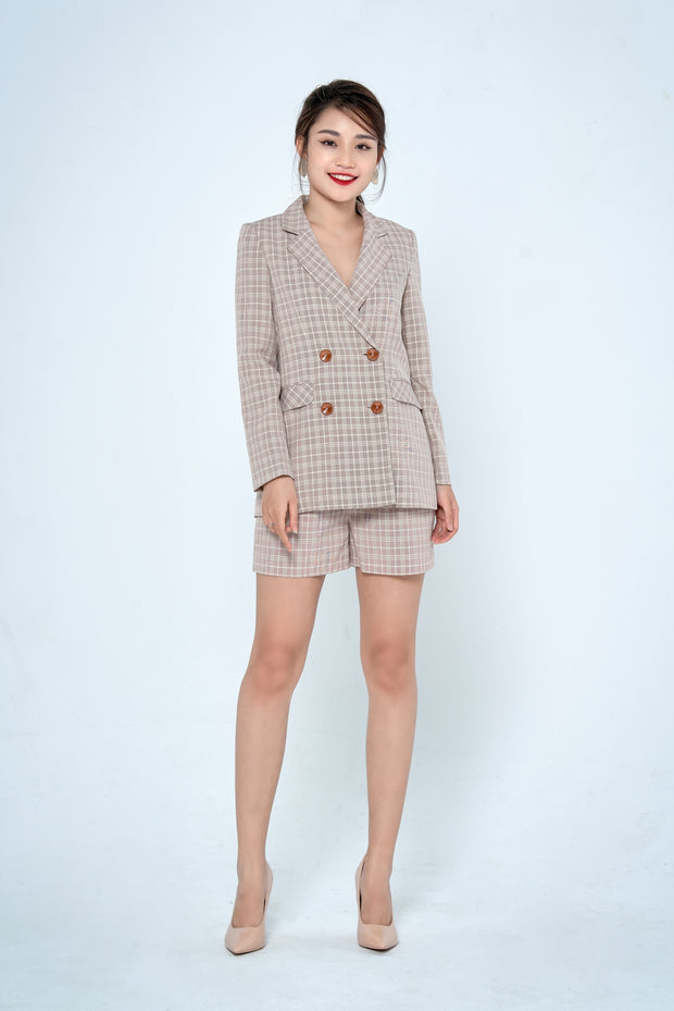 Anna Long Notch Blazer