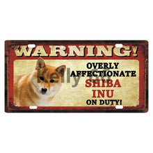 Load image into Gallery viewer, Shiba Inu Tin Poster Metal Sign Home 15*30 CM Size c-4