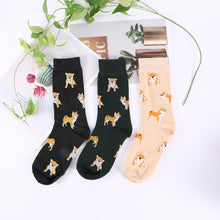 Load image into Gallery viewer, Women's Shiba Socks