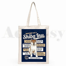 Load image into Gallery viewer, Shiba Inu Canvas Bags - Multiple Styles