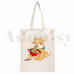 Shiba Inu Canvas Bags - Multiple Styles