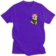 Load image into Gallery viewer, Men's Shiba Pocket Tee