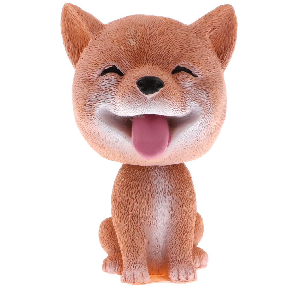 Shiba Inu Bobblehead Car Dashboard Auto Decoration