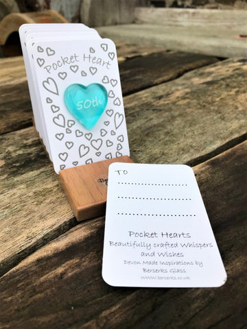 Occasions Pocket Heart - 50th