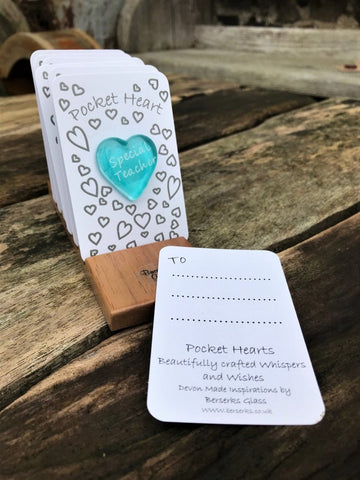 Good Wishes Pocket Heart - Special Teacher