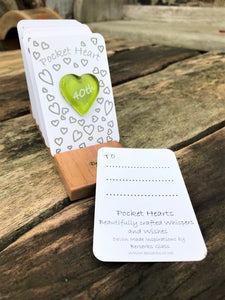 Occasions Pocket Heart - 40th