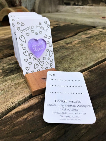 Good Wishes Pocket Heart - Special Friend