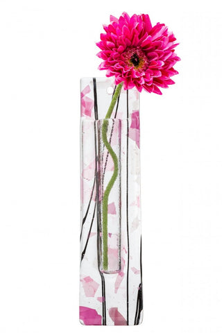 Wall Hanging Flower Pocket - Pink