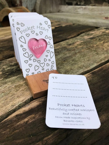 Good Wishes Pocket Heart - Friends