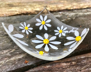 Simply Daisy Ring Dish - Yellow