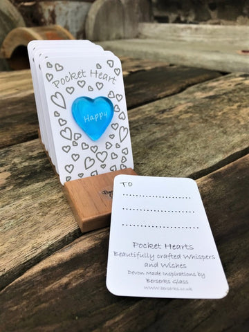 Inspire Pocket Heart - Happy