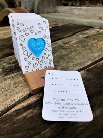 Good Wishes Pocket Heart - Thank You