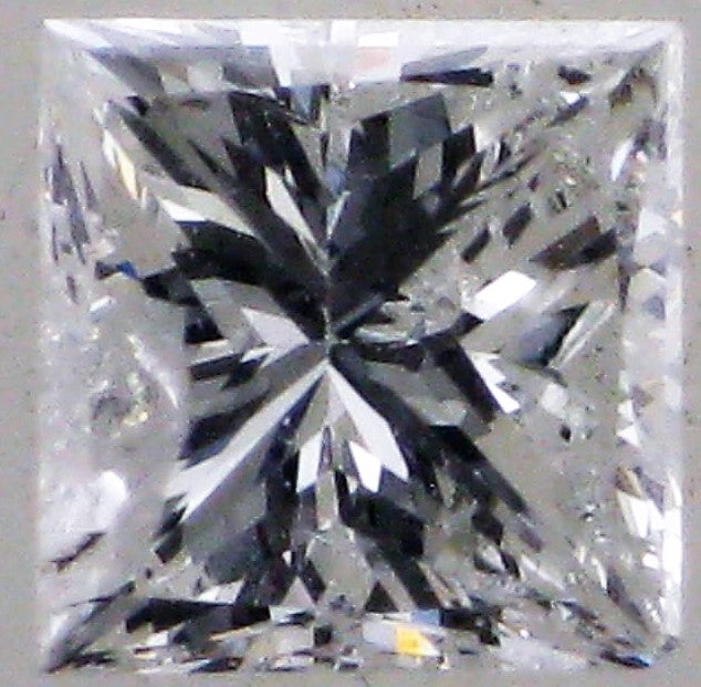 Loose 0.33 Princess Cut  Pre-Loved Diamond- 0.33 carats