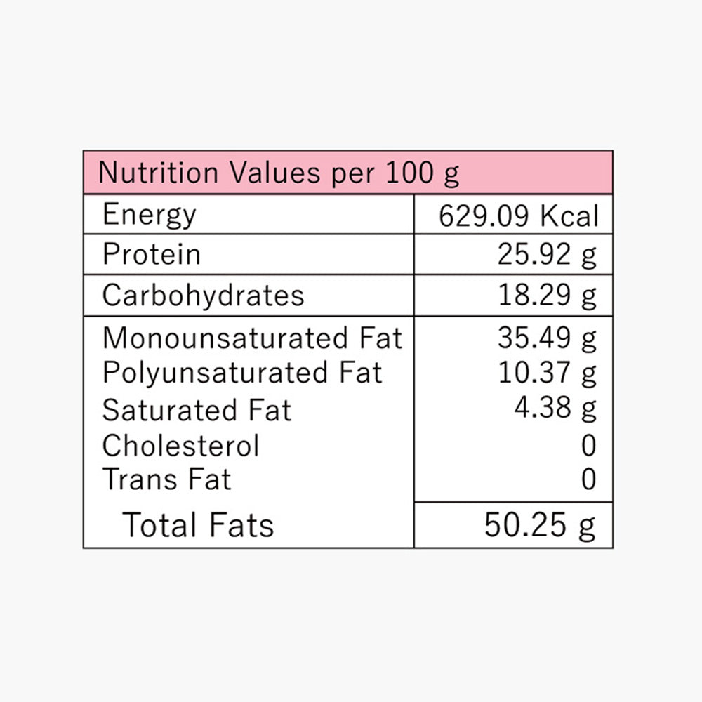 Organic Almond Butter, Himalayan Pink Salt - Nutrition Value | Classic Tales Organic Nut Butter