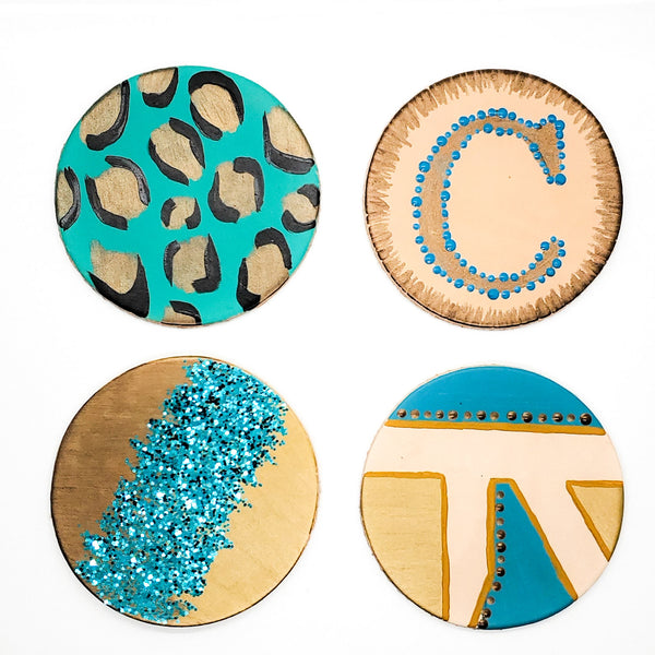 Virtual DIY Class - Leather Coasters #2