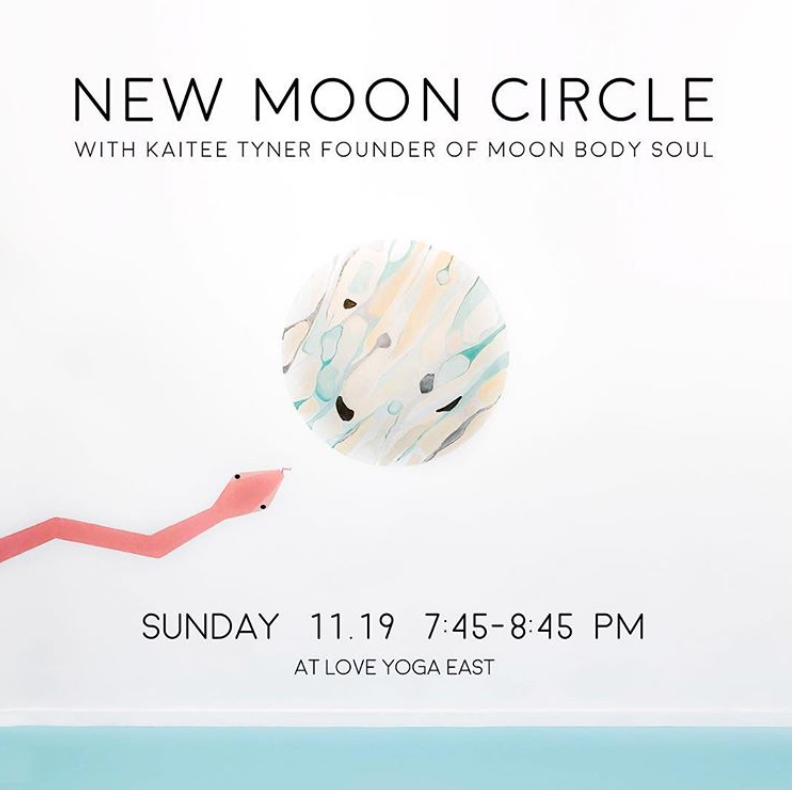 Meditation Recording - Scorpio New Moon Circle