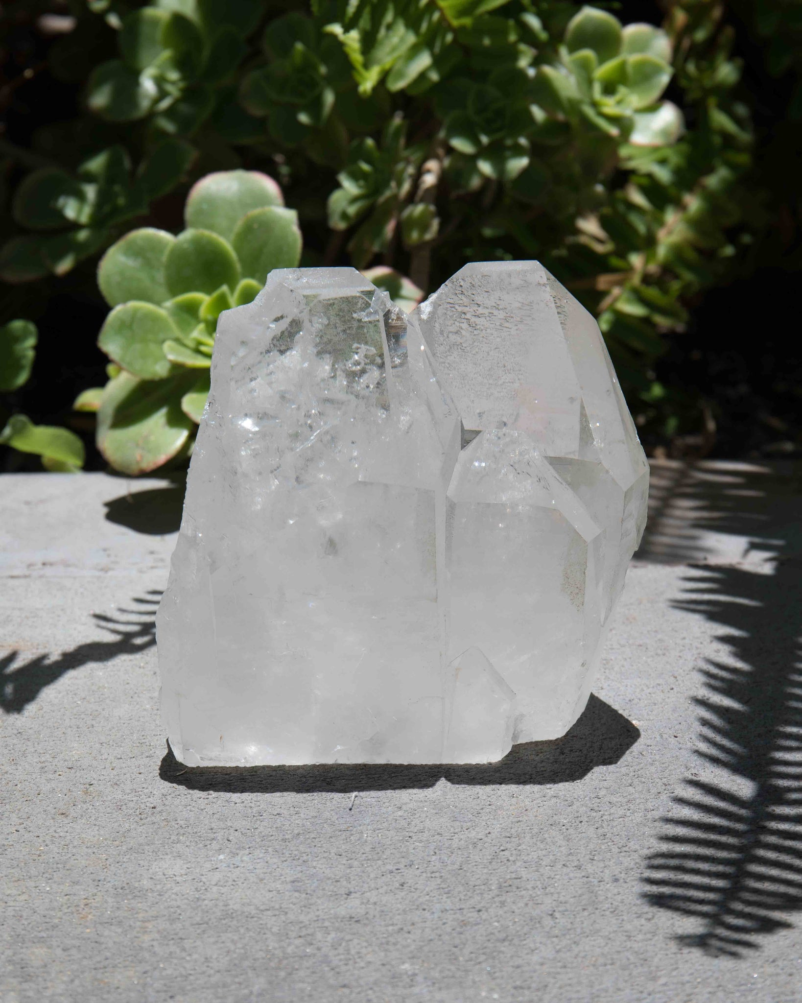 Large Brazilian Clear Quartz Statement Piece